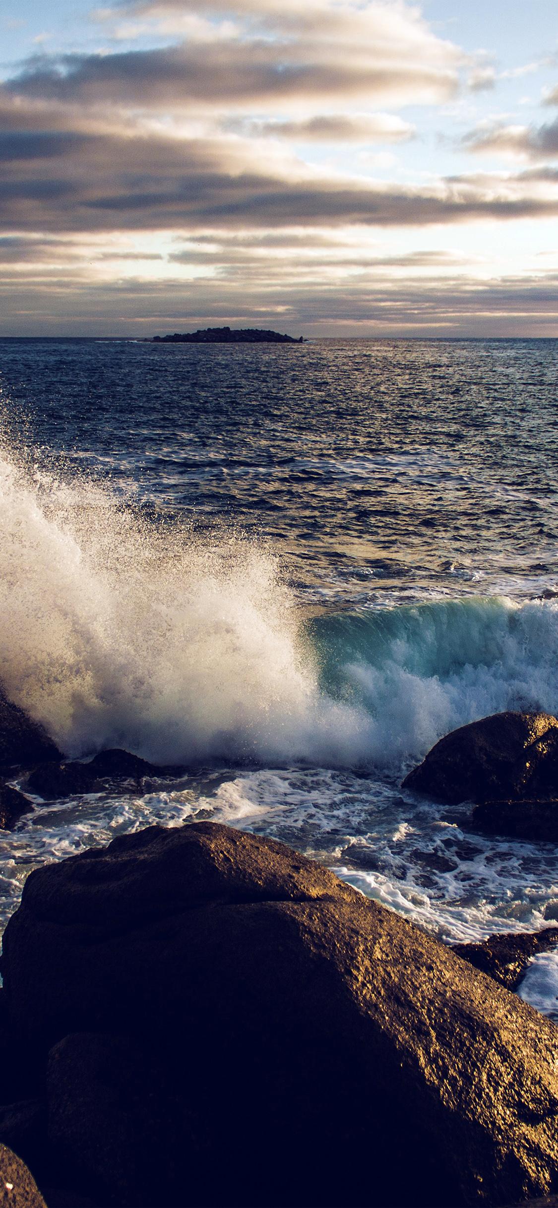 iPhonexpapers.com-Apple-iPhone-wallpaper-nj99-rock-wave-nature-sea-cold-blue