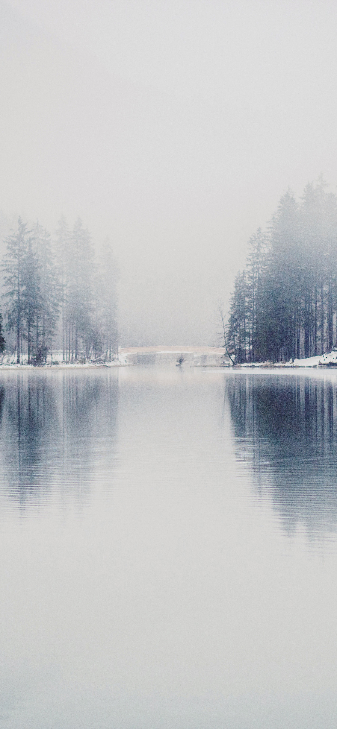 iPhoneXpapers.com-Apple-iPhone-wallpaper-nk06-winter-lake-white-blue-wood-nature-fog