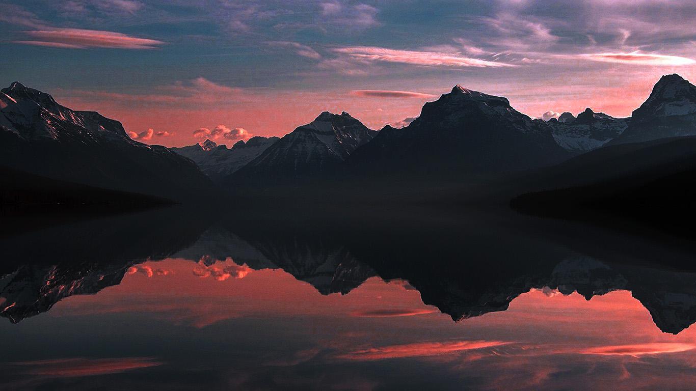 desktop-wallpaper-laptop-mac-macbook-air-nk43-lake-mcdonald-nature-mountain-sky-summer-dark-red-wallpaper