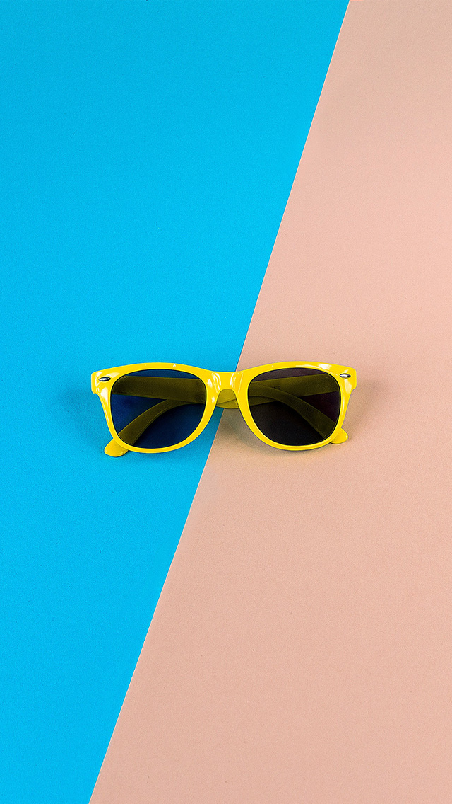 freeios8.com-iphone-4-5-6-plus-ipad-ios8-nk47-minimal-glasses-pink-blue-yellow