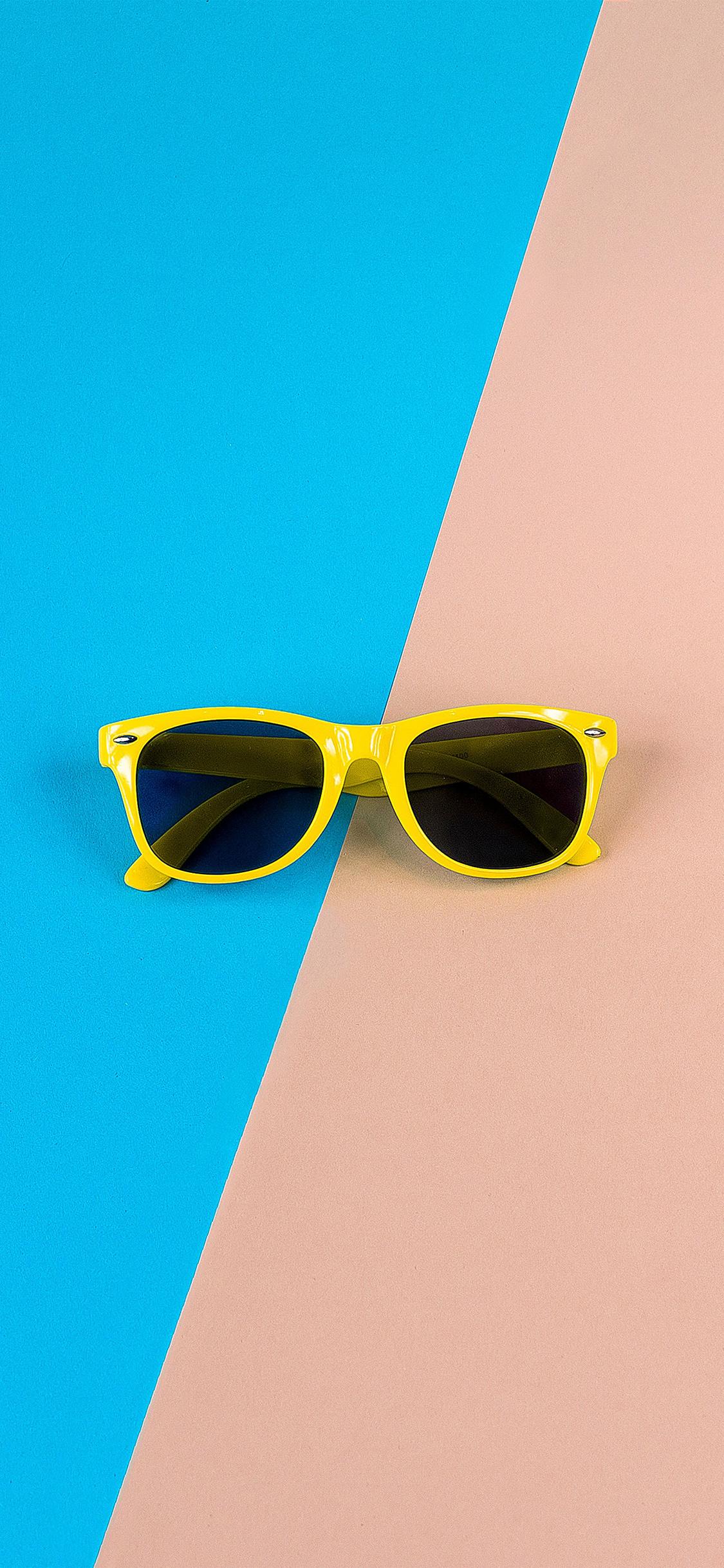 iPhoneXpapers.com-Apple-iPhone-wallpaper-nk47-minimal-glasses-pink-blue-yellow