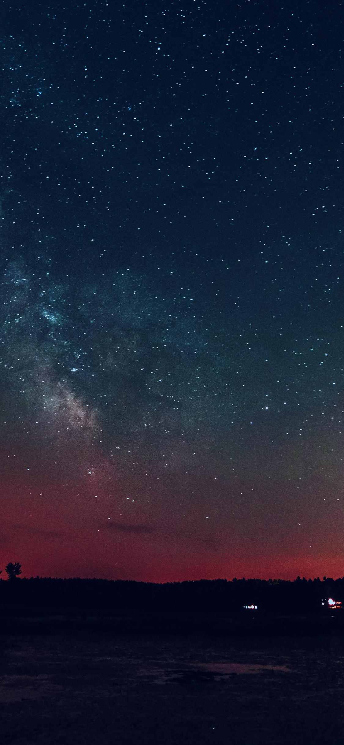 Iphonexpapers Com Iphone X Wallpaper Nk53 Night Sky Star