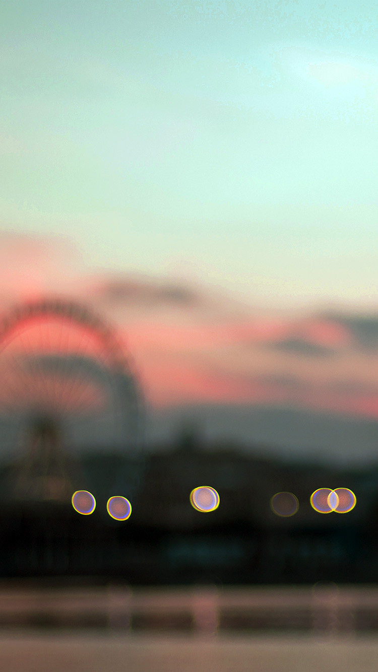 iPhone7papers.com-Apple-iPhone7-iphone7plus-wallpaper-nk55-bokeh-circle-sunset-afternoon-london-red