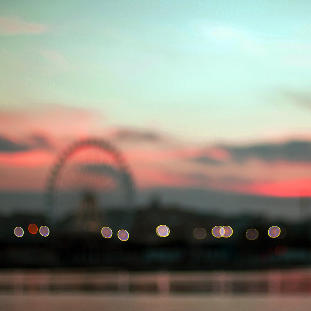 android-wallpaper-nk55-bokeh-circle-sunset-afternoon-london-red-wallpaper