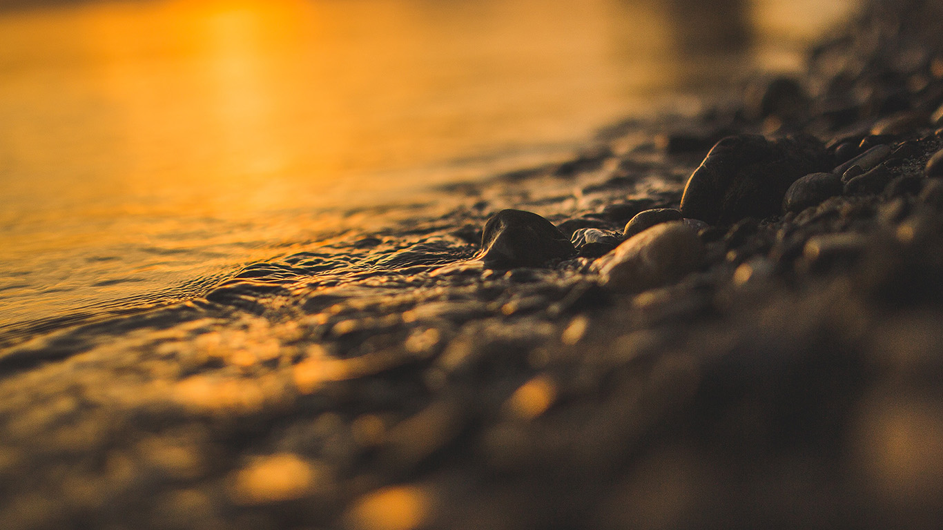 desktop-wallpaper-laptop-mac-macbook-air-nk56-sea-stone-lake-rock-bokeh-night-wave-orange-wallpaper