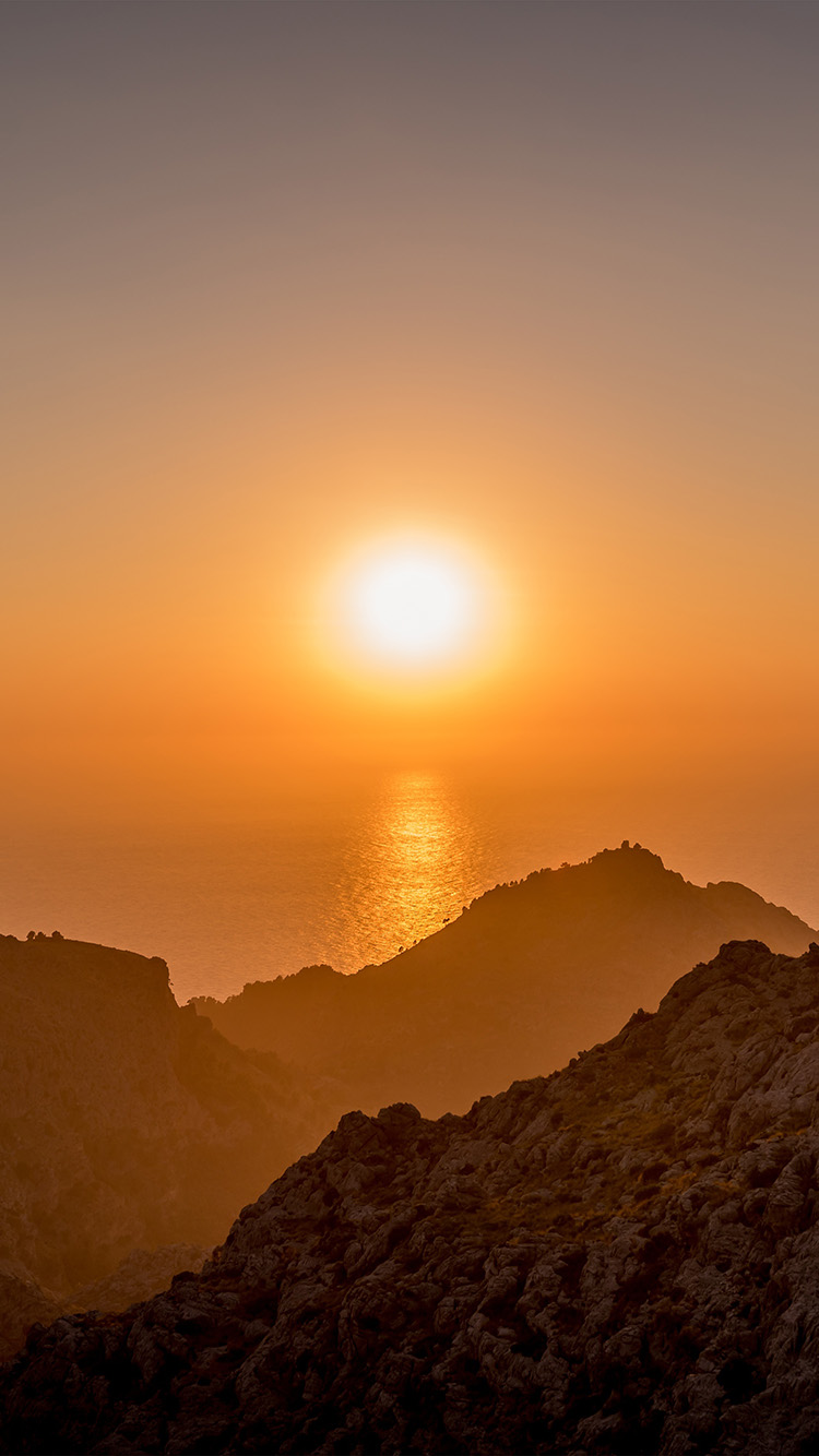 Papers.co-iPhone5-iphone6-plus-wallpaper-nk66-sea-sunset-afternoon-rock-mountain-orange