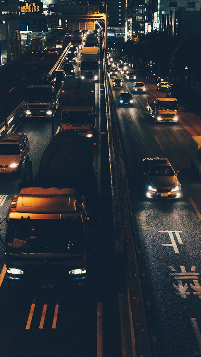 freeios8.com-iphone-4-5-6-plus-ipad-ios8-nk69-street-car-japan-night