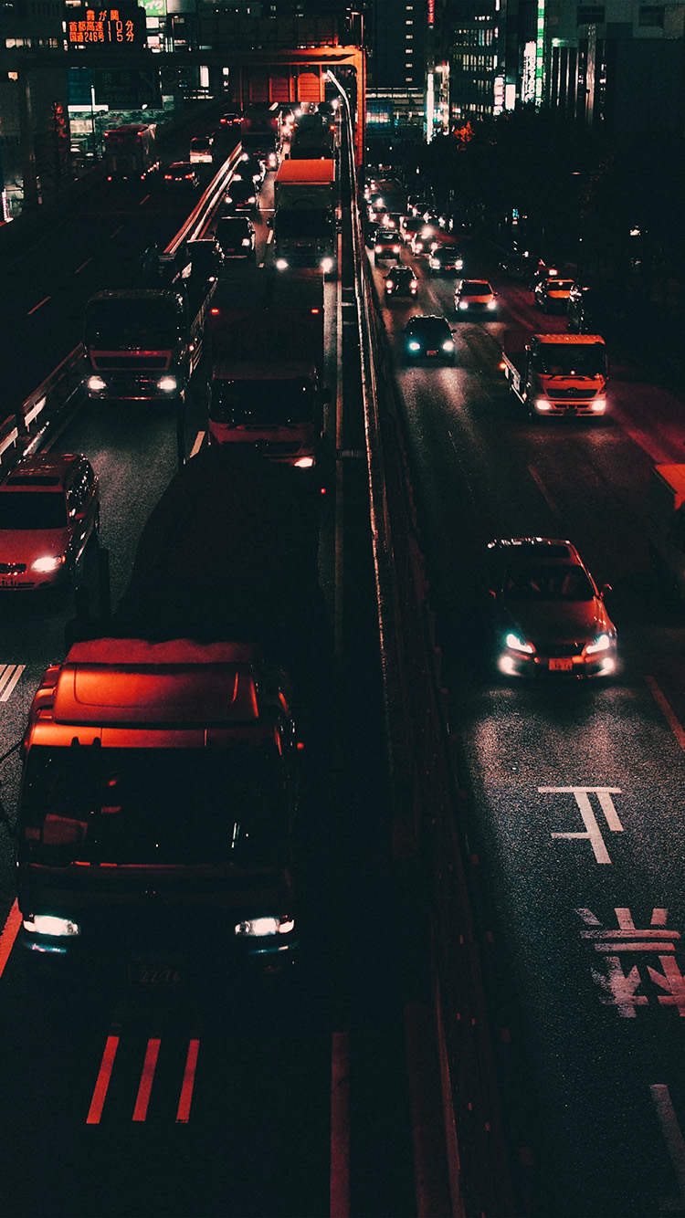 iPhone7papers.com-Apple-iPhone7-iphone7plus-wallpaper-nk70-street-car-japan-night-orange