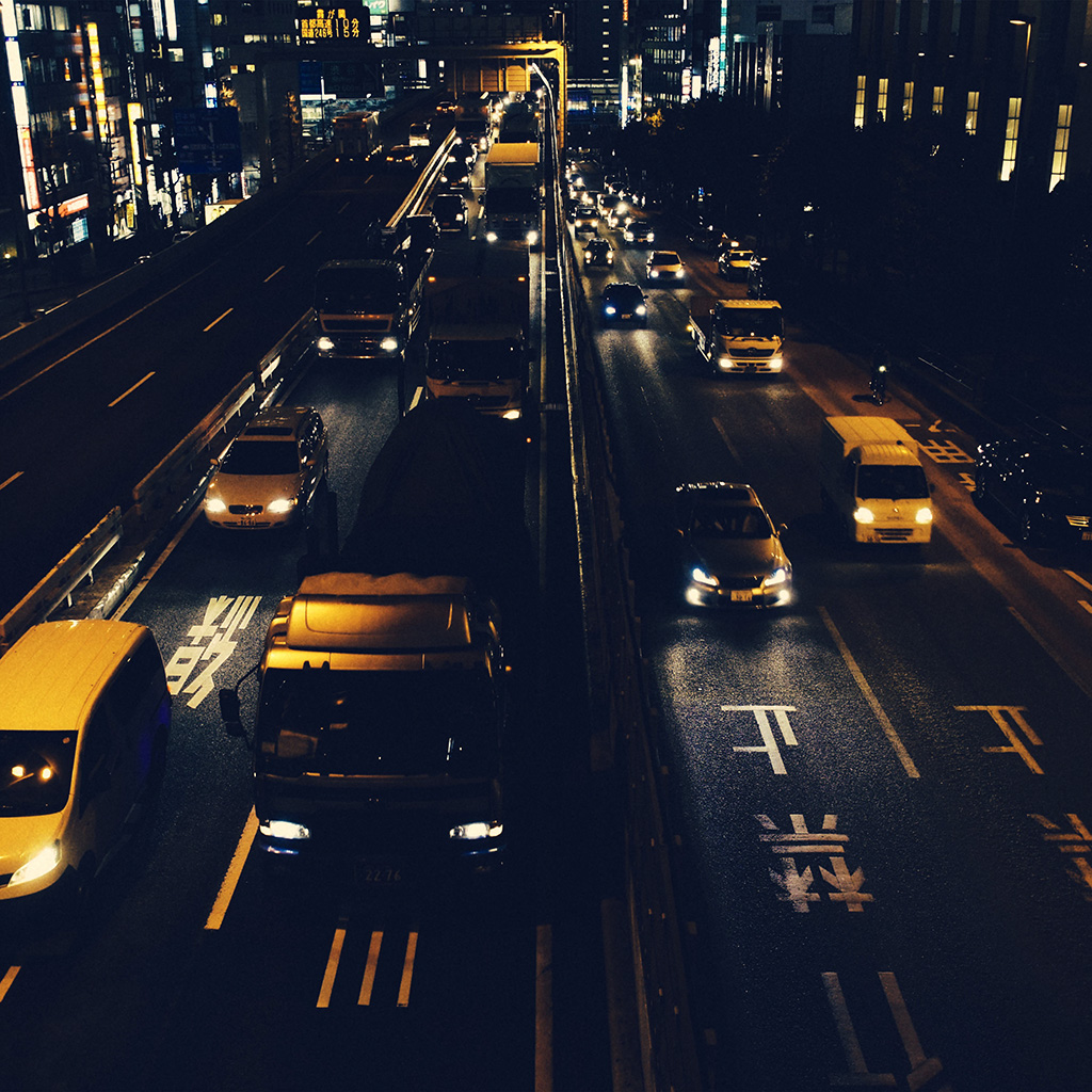 wallpaper-nk71-street-car-japan-night-yellow-wallpaper