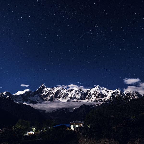 iPapers.co-Apple-iPhone-iPad-Macbook-iMac-wallpaper-nk75-night-mountain-blue-sky-space-star-dark-wallpaper