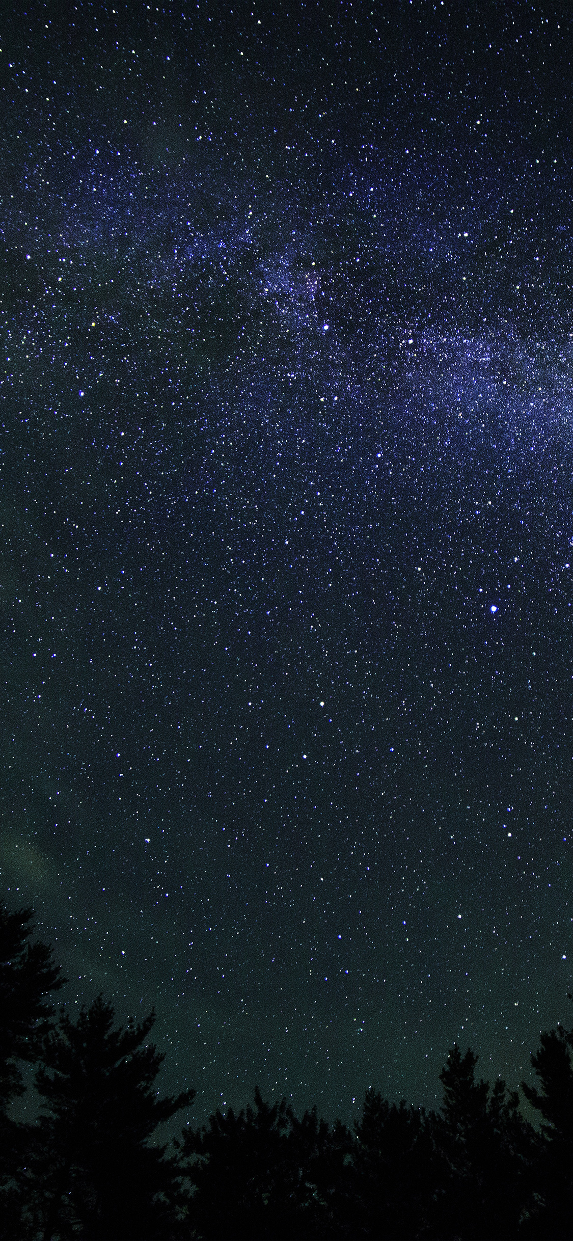 papers.co nk84 nature milkyway space sky night dark blue 41 iphone wallpaper