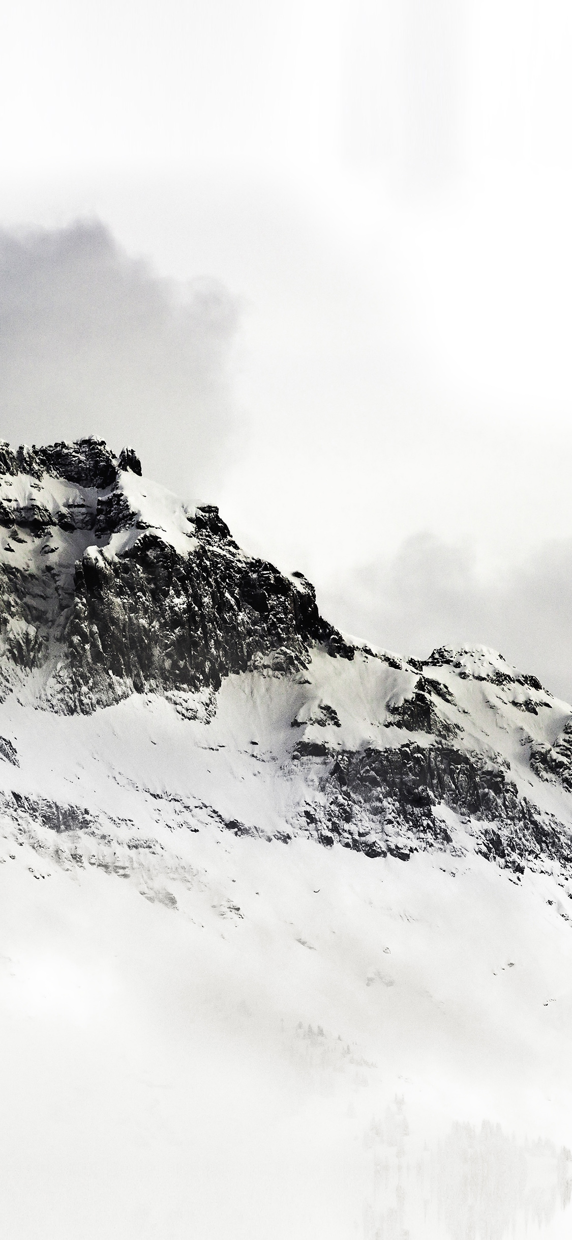 Iphonexpapers Com Iphone X Wallpaper Nl03 Mountain White Snow