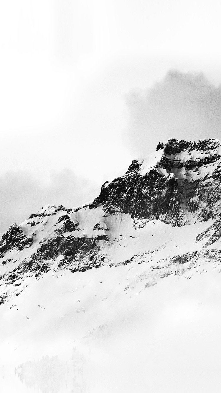 iPhone7papers.com-Apple-iPhone7-iphone7plus-wallpaper-nl04-mountain-white-snow-winter-minimal-bw