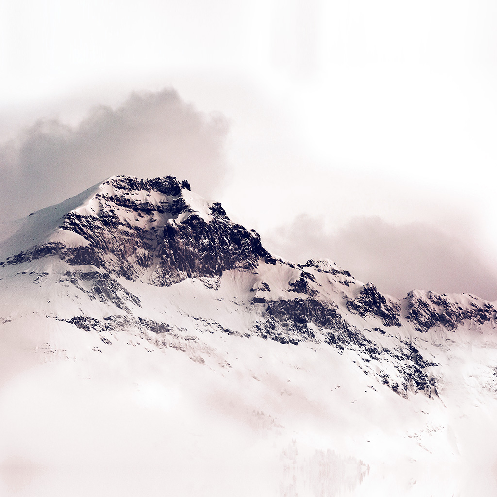 wallpaper-nl05-mountain-white-snow-winter-minimal-red-wallpaper