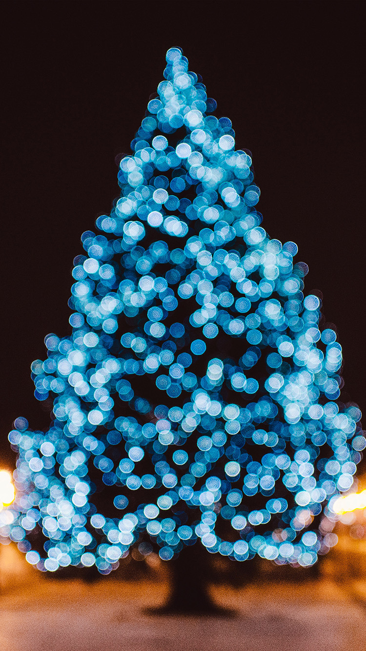 iPhone6papers.co-Apple-iPhone-6-iphone6-plus-wallpaper-nl35-city-tree-bokeh-winter-art-christmas