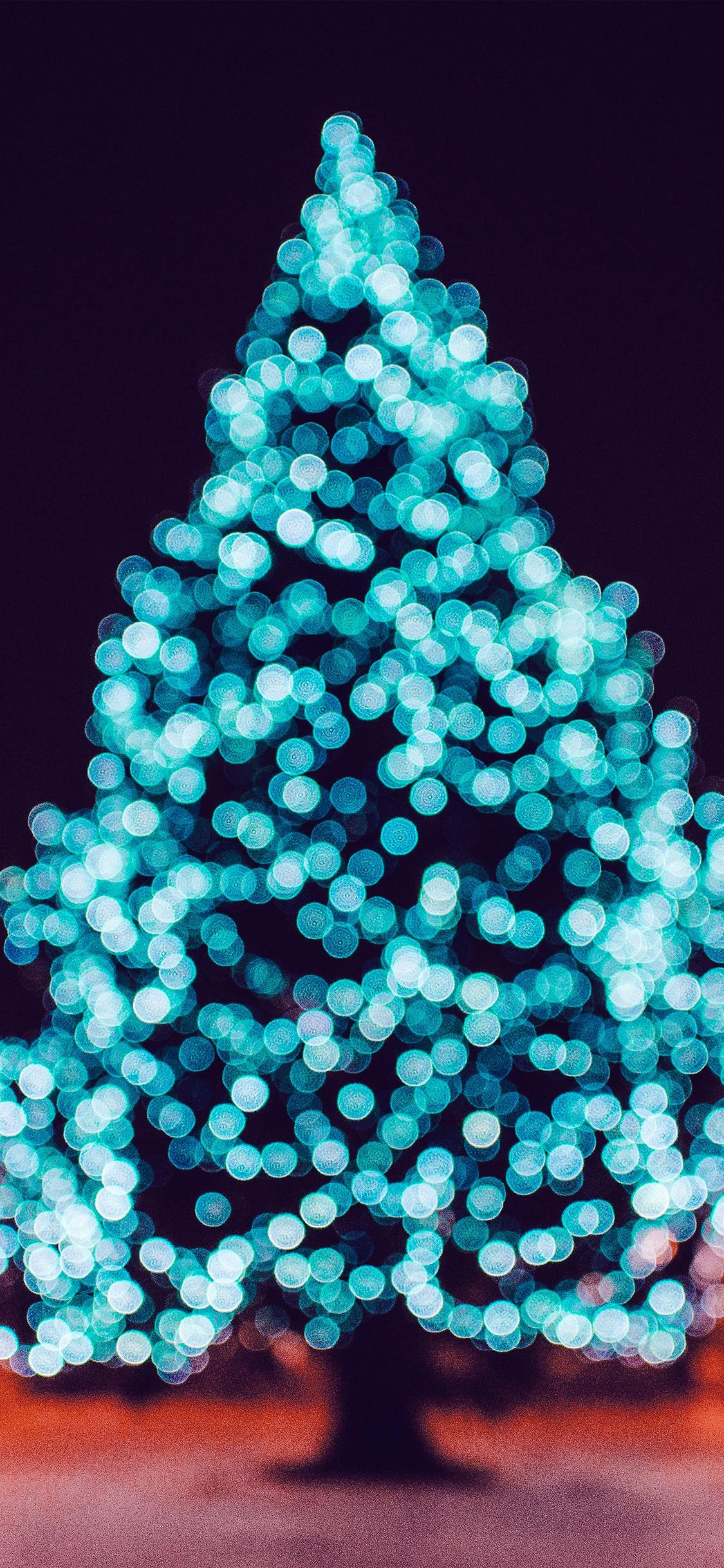 Iphonexpapers Com Iphone X Wallpaper Nl36 City Tree Bokeh Winter Art Christmas Color