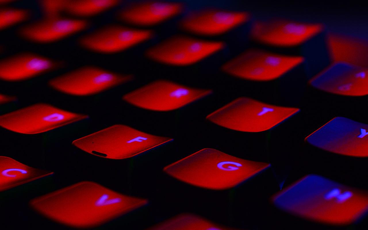 Nl78 Dark Red Keyboard Coding Wallpaper
