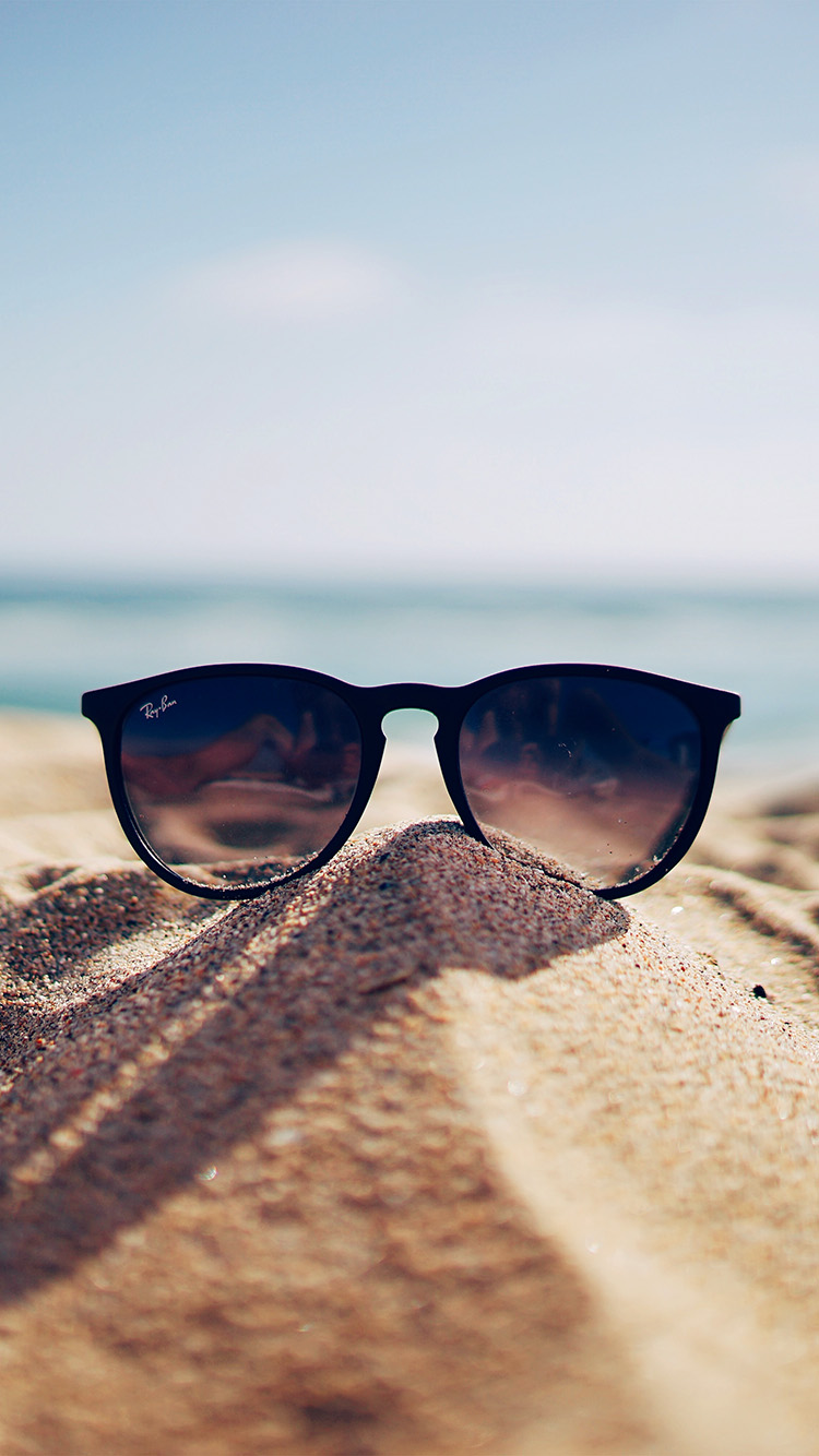 iPhone6papers.co-Apple-iPhone-6-iphone6-plus-wallpaper-nl80-nature-glass-sun-rayban-bokeh-vacation-sea-summer
