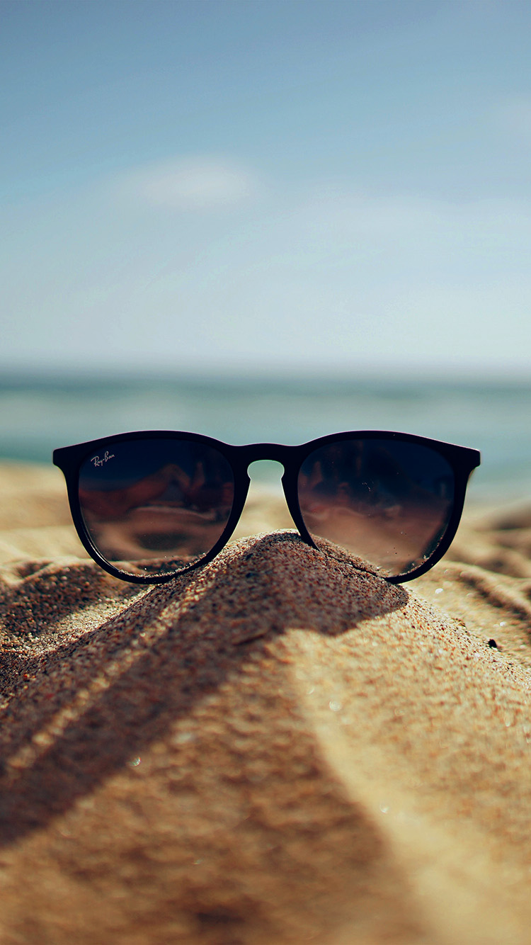 iPhone7papers.com-Apple-iPhone7-iphone7plus-wallpaper-nl81-nature-glass-sun-rayban-bokeh-vacation-sea-summer-dark