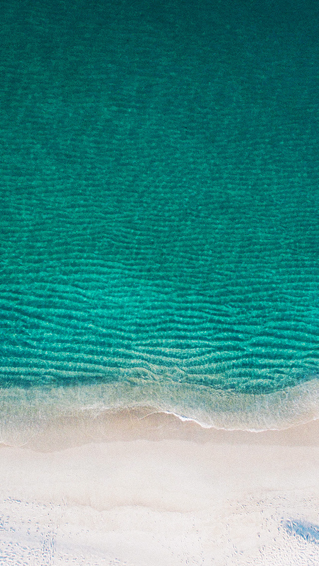 freeios8.com-iphone-4-5-6-plus-ipad-ios8-nl84-sea-ocean-green-minimal-nature-wave-earth