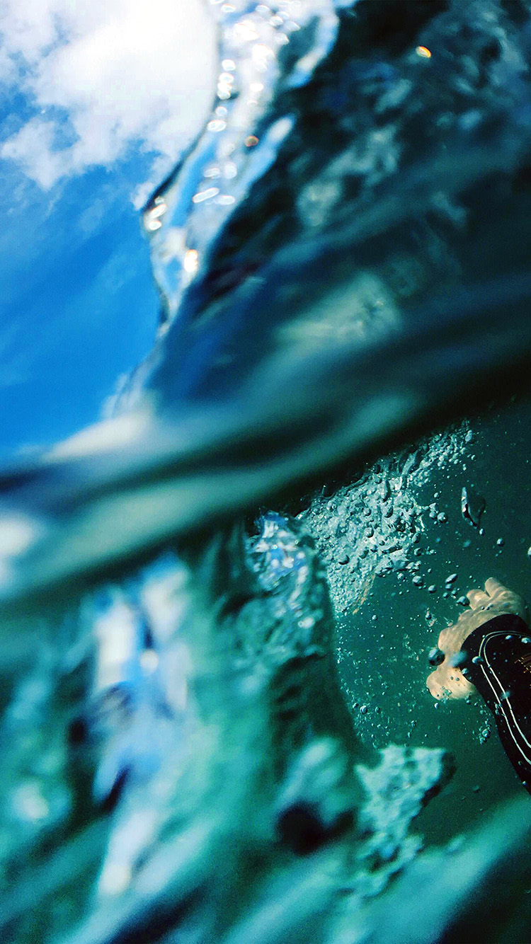 iPhonepapers.com-Apple-iPhone-wallpaper-nl98-sea-blue-nature-swim-underwater-summer-green