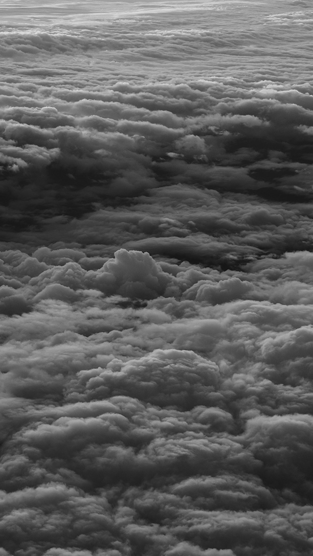 freeios8.com-iphone-4-5-6-plus-ipad-ios8-nm14-cloud-fly-sky-nature-earth-sunset-bw-dark