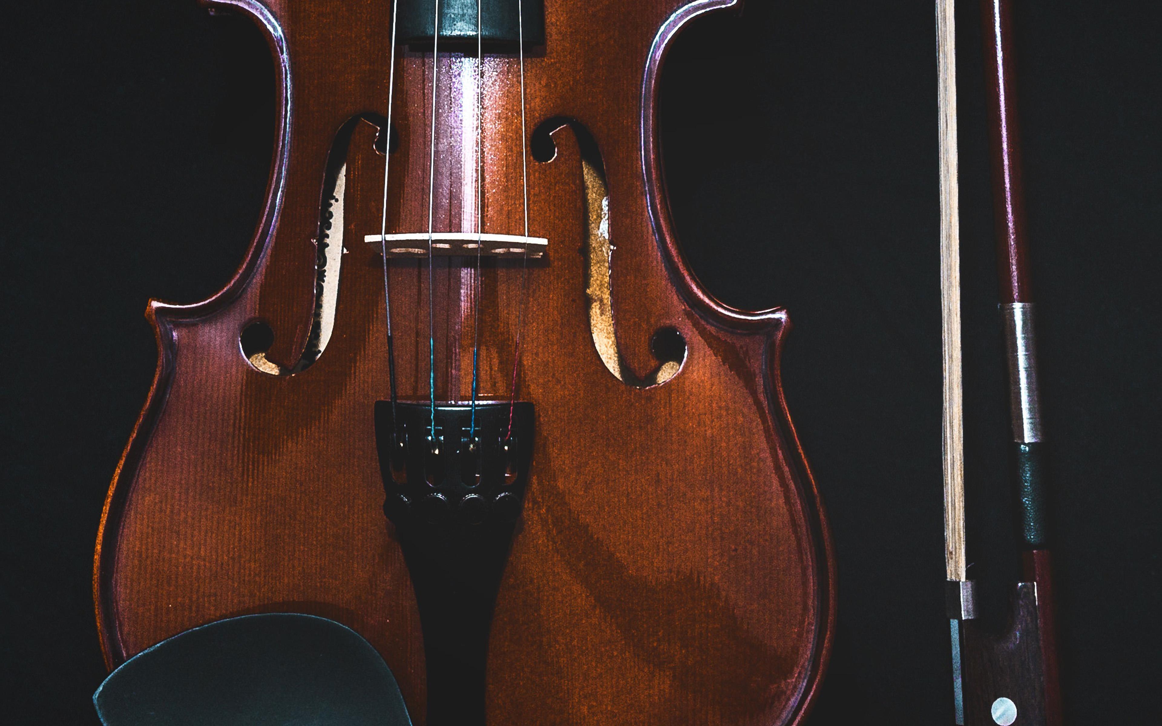 Cello Wallpaper Photo 22287 Hd Pictures: Nm15-violin-dark-instrument-wallpaper