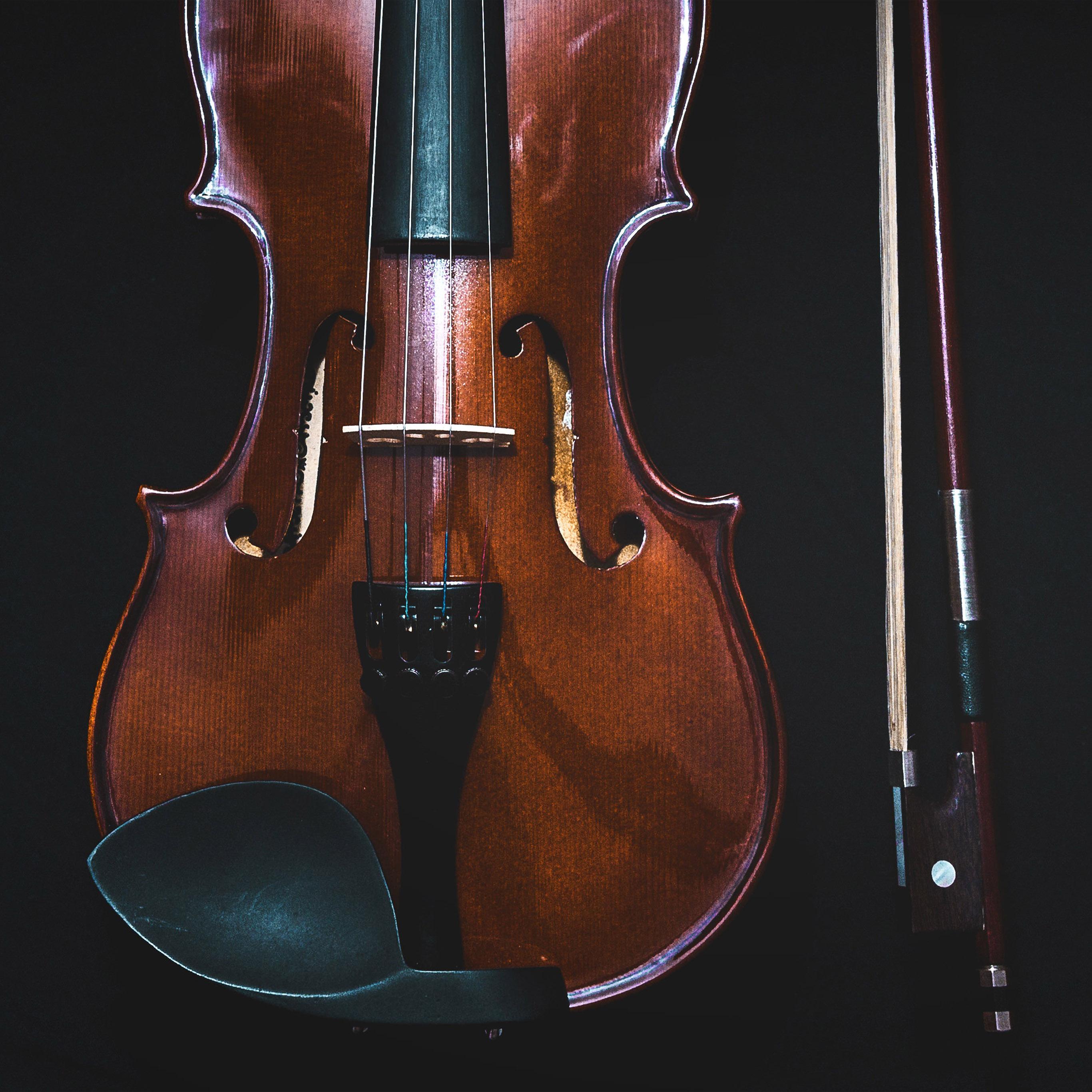 Violin Wallpaper: Nm15-violin-dark-instrument-wallpaper