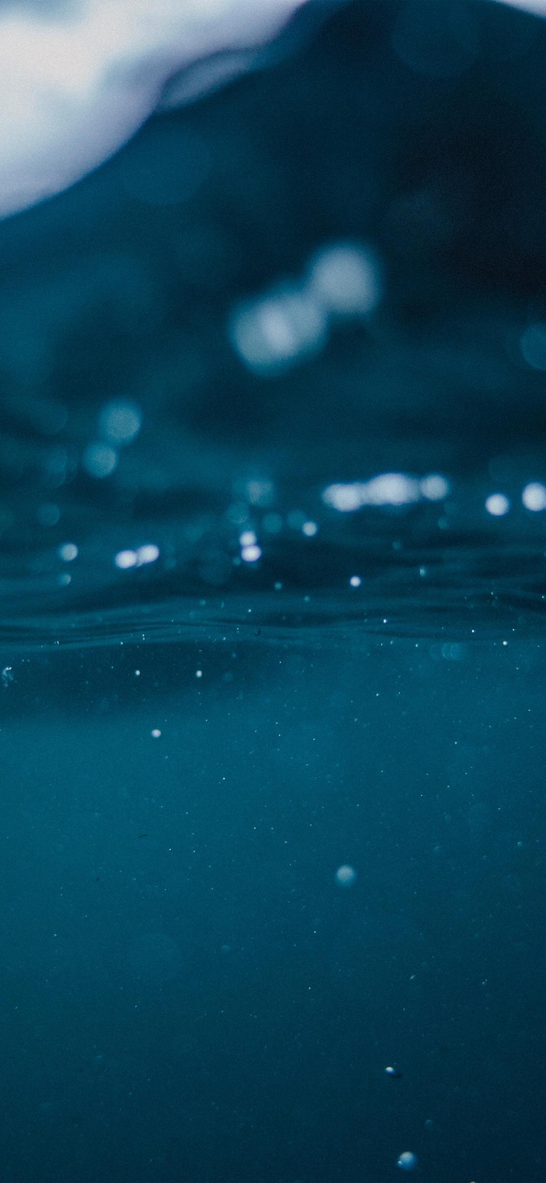 Iphonexpapers Com Iphone X Wallpaper Nm49 Under Water Blue Ocean