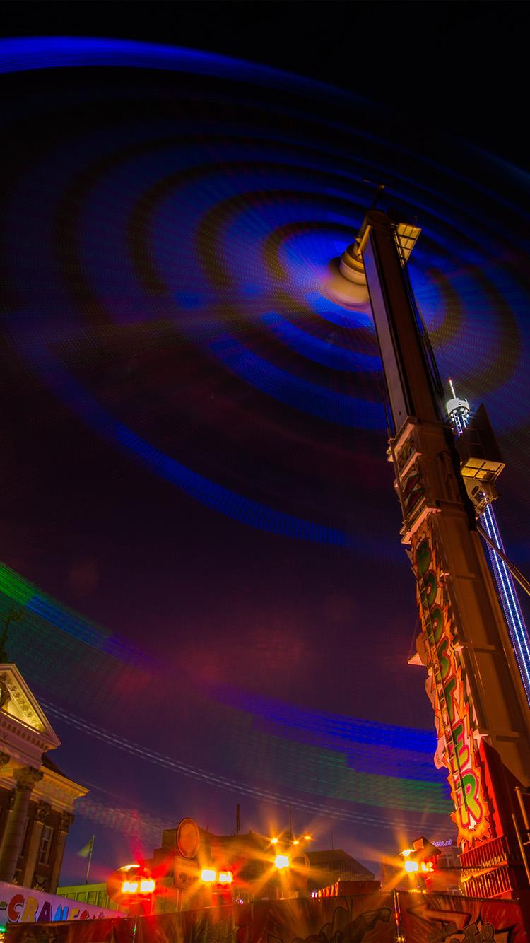 iPhone7papers.com-Apple-iPhone7-iphone7plus-wallpaper-nm56-ferris-wheel-night-light-city-color