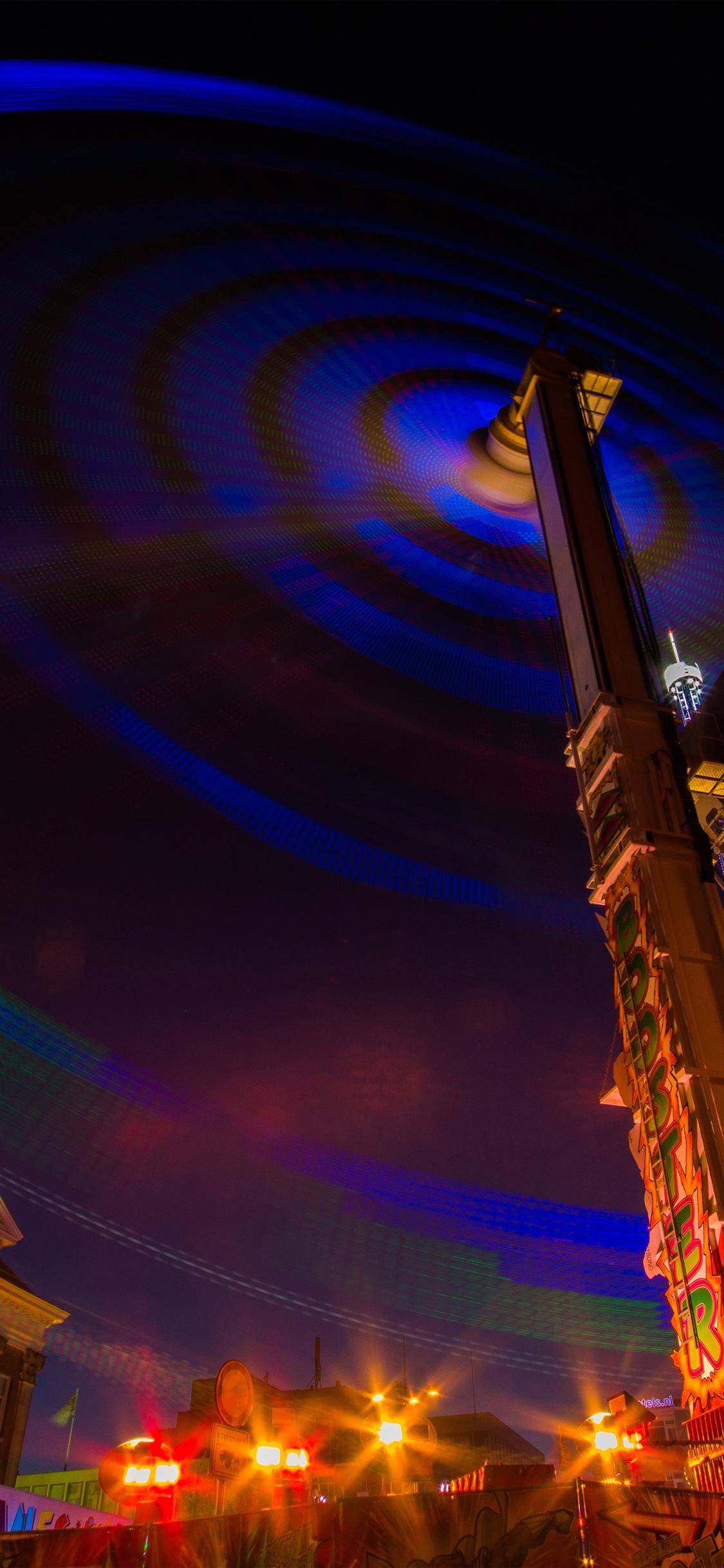 iPhoneXpapers.com-Apple-iPhone-wallpaper-nm56-ferris-wheel-night-light-city-color
