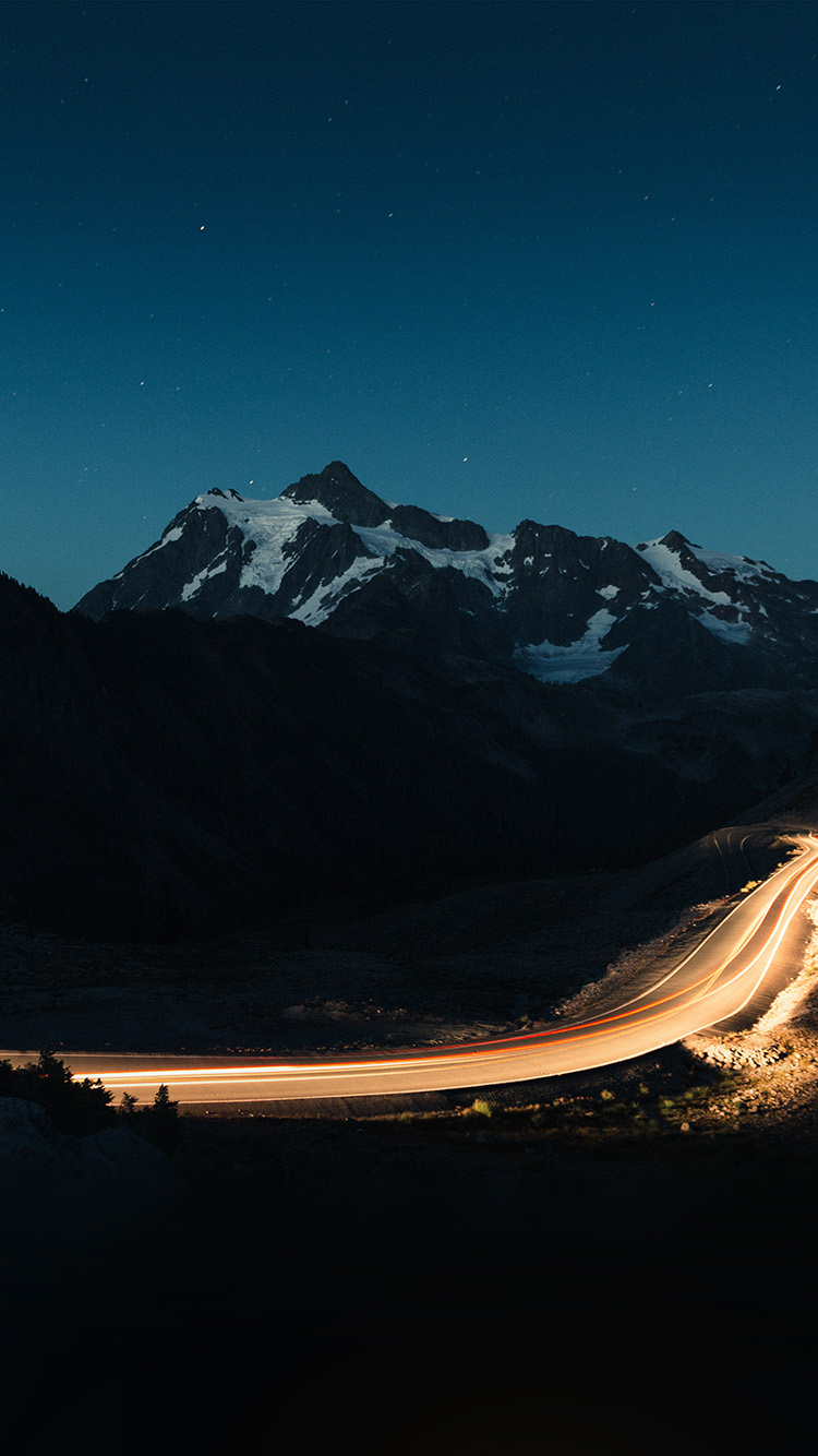 Papers.co-iPhone5-iphone6-plus-wallpaper-nn41-night-mountain-road-street-light