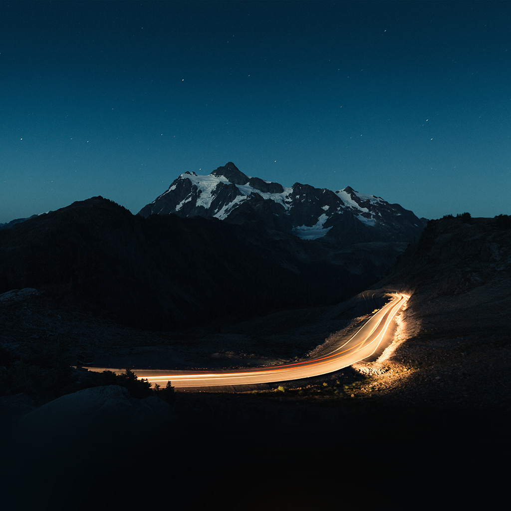 nature wallpapers night road - photo #29