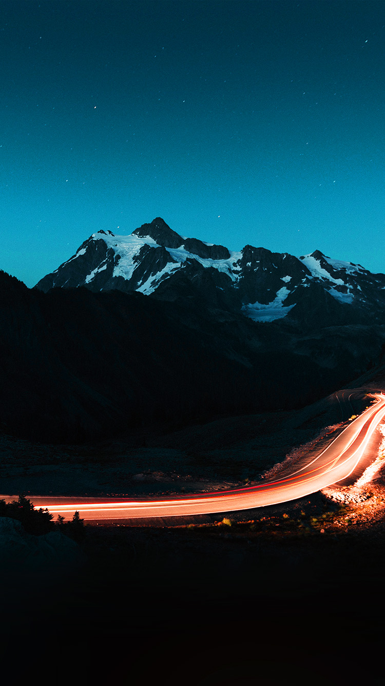 iPhone7papers.com-Apple-iPhone7-iphone7plus-wallpaper-nn43-night-mountain-road-street-light-blue