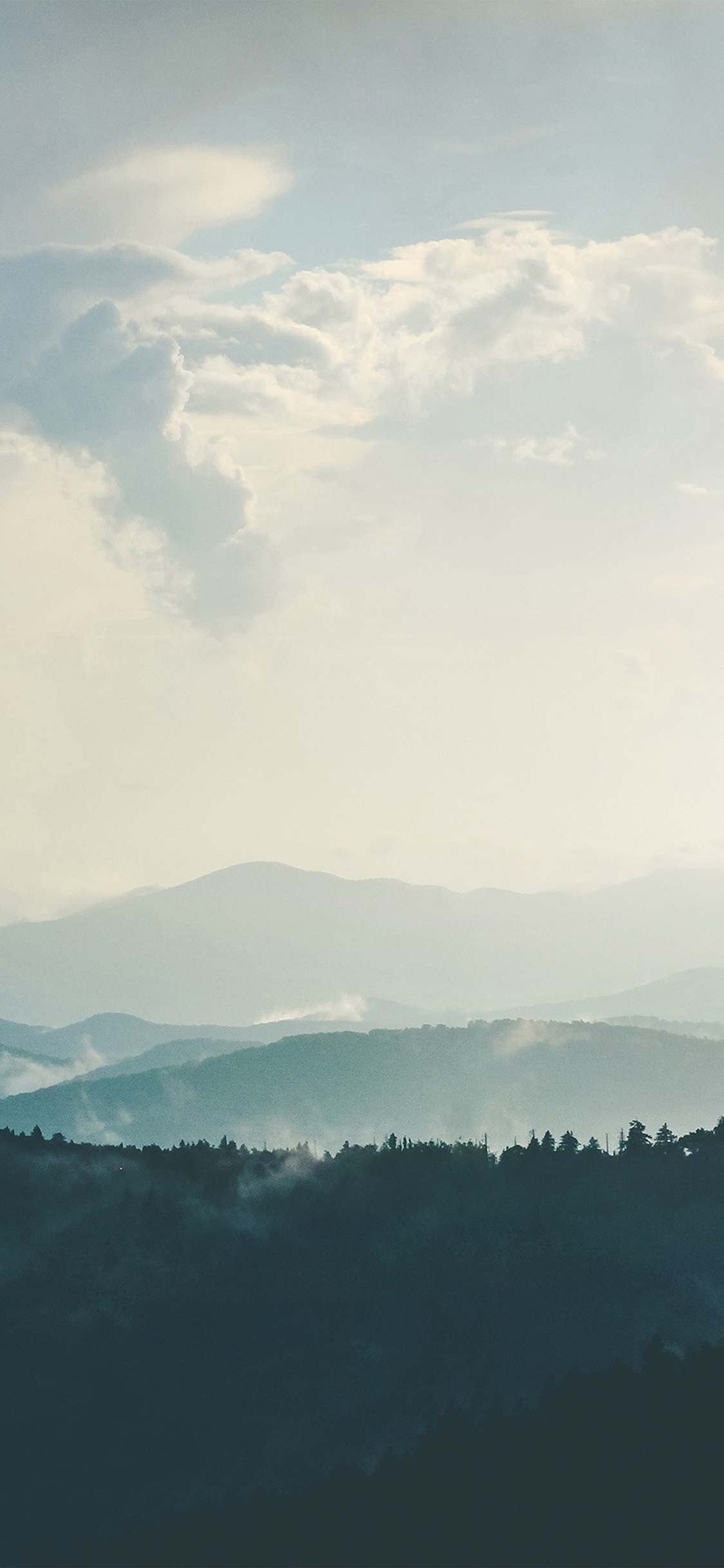 iPhoneXpapers.com-Apple-iPhone-wallpaper-nn56-mountain-morning-sky-bird-blue-nature