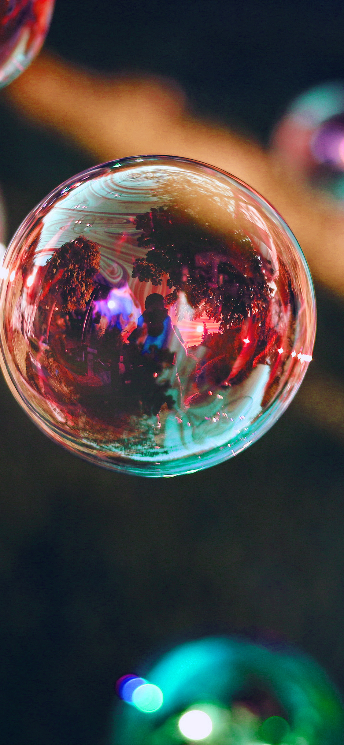 iPhoneXpapers.com-Apple-iPhone-wallpaper-nn87-bubble-summer-day-red-bokeh-dark