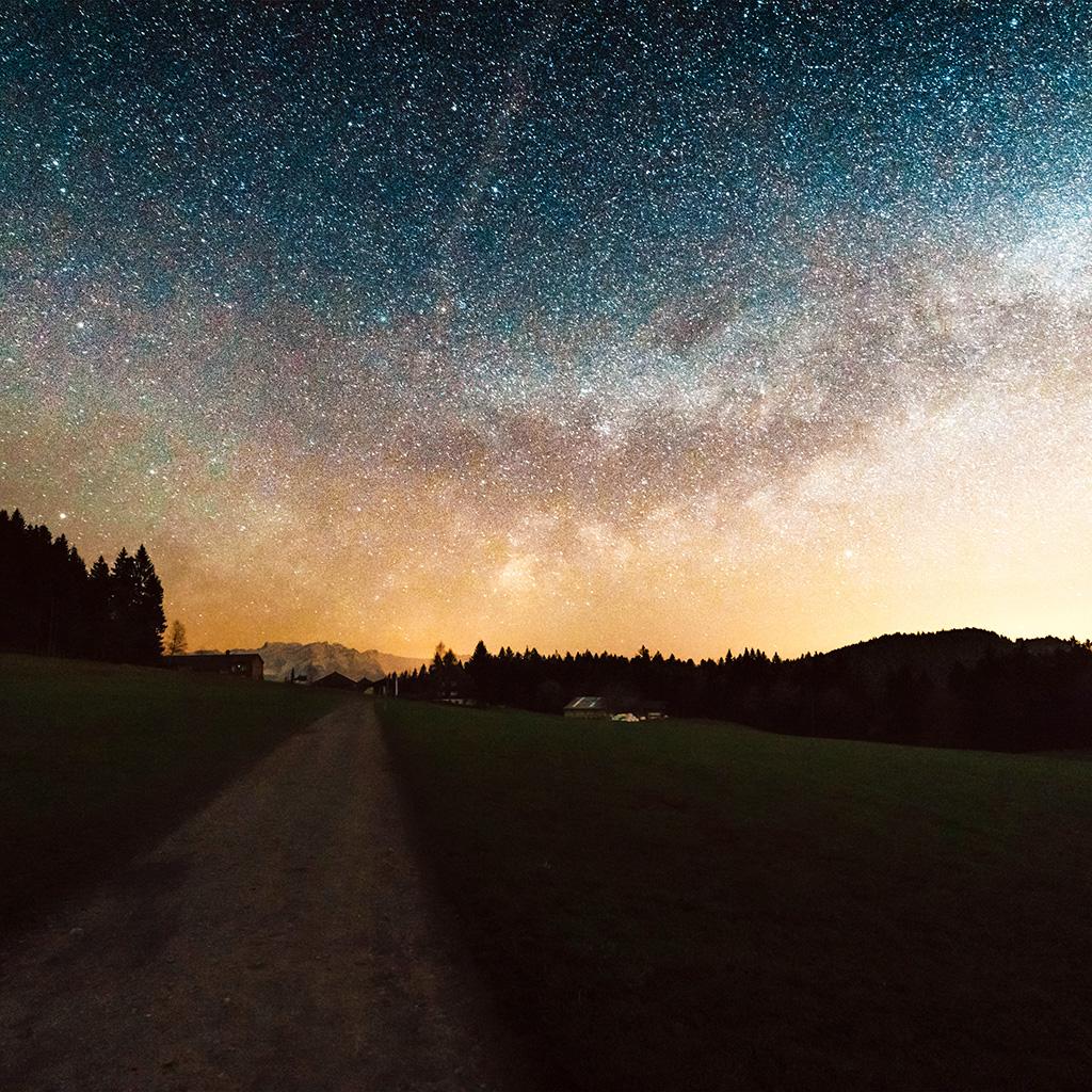 wallpaper-nn94-starry-sky-nature-sunset-mountain-road-red-wallpaper