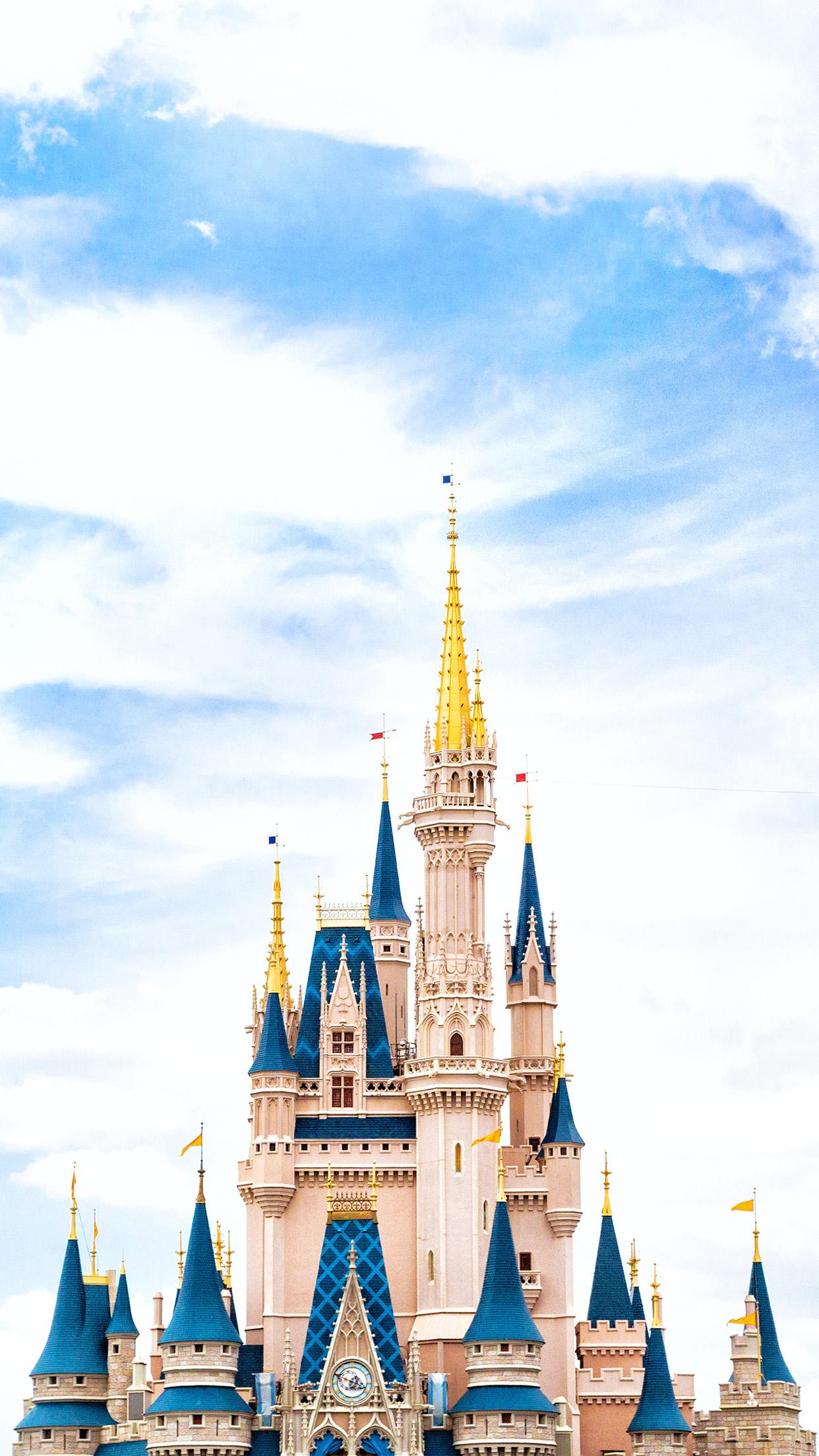 iPhone7papers.com | iPhone7 wallpaper | nn96-disney-world-castle-sky