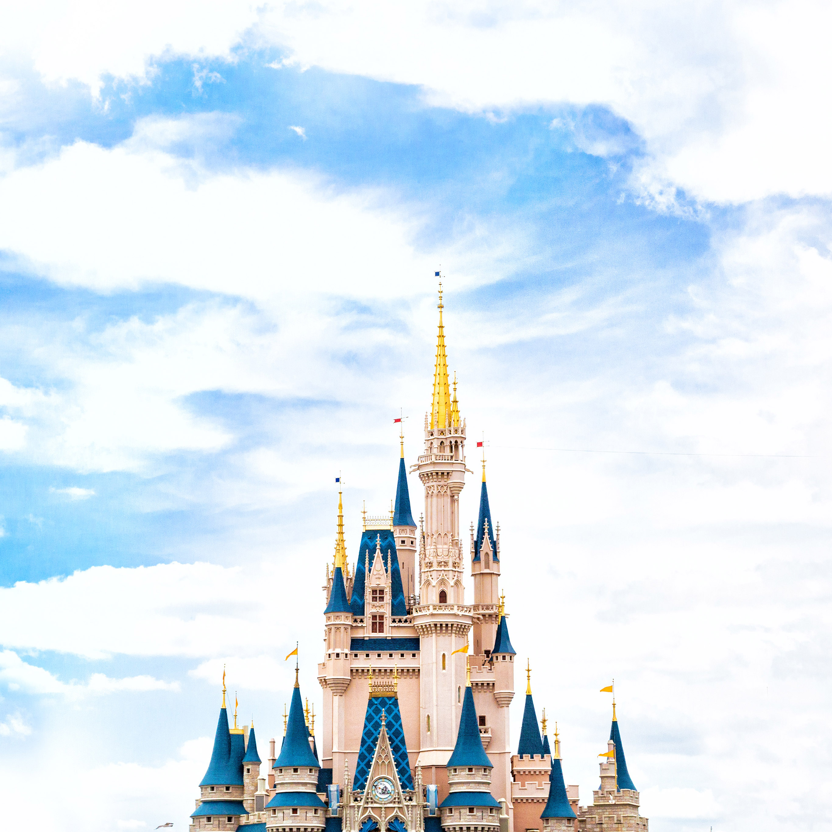 Papers Co Android Wallpaper Nn96 Disney World Castle Sky