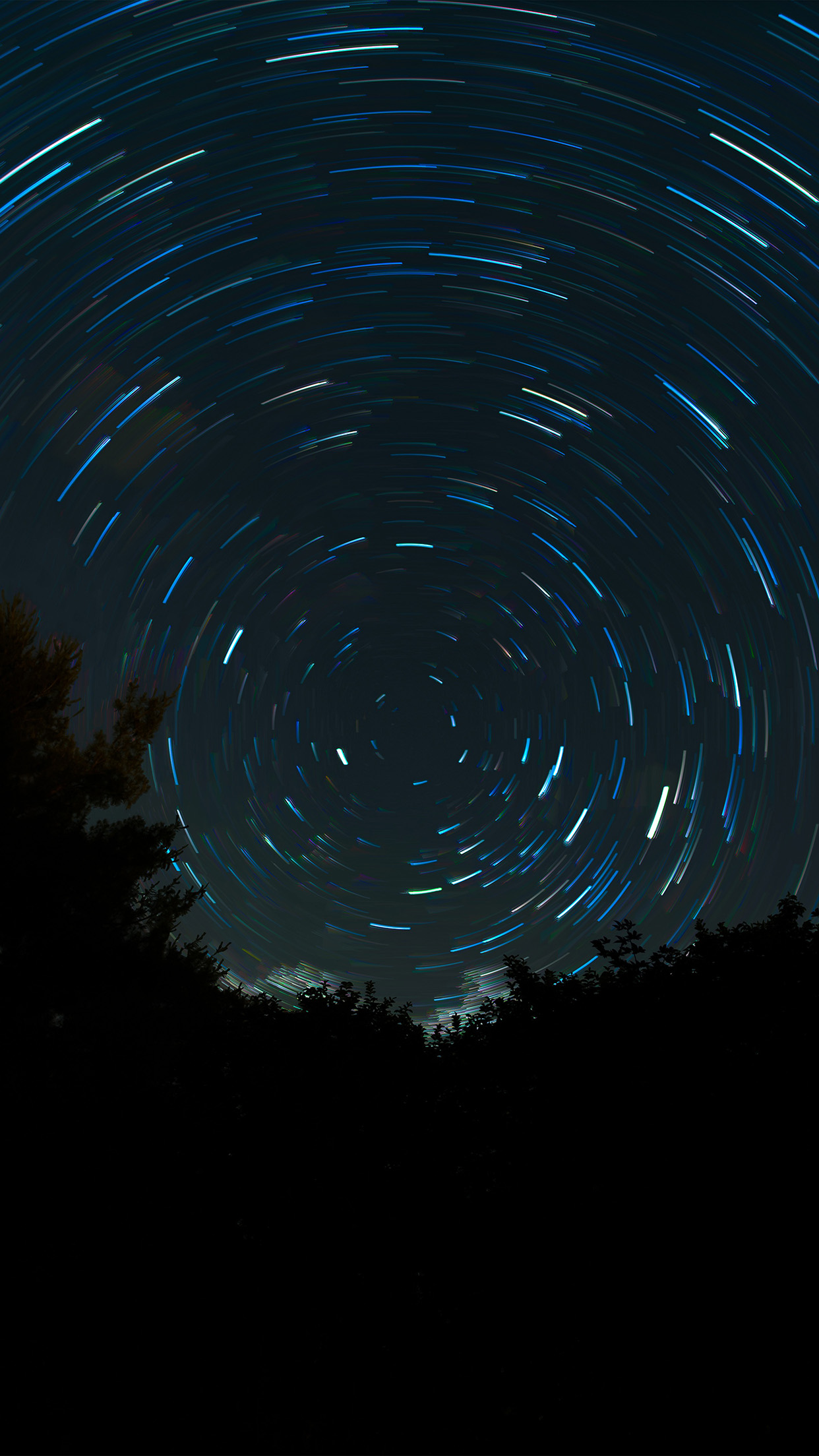 No16 space night sky circle dark wallpaper - Space night sky wallpaper ...