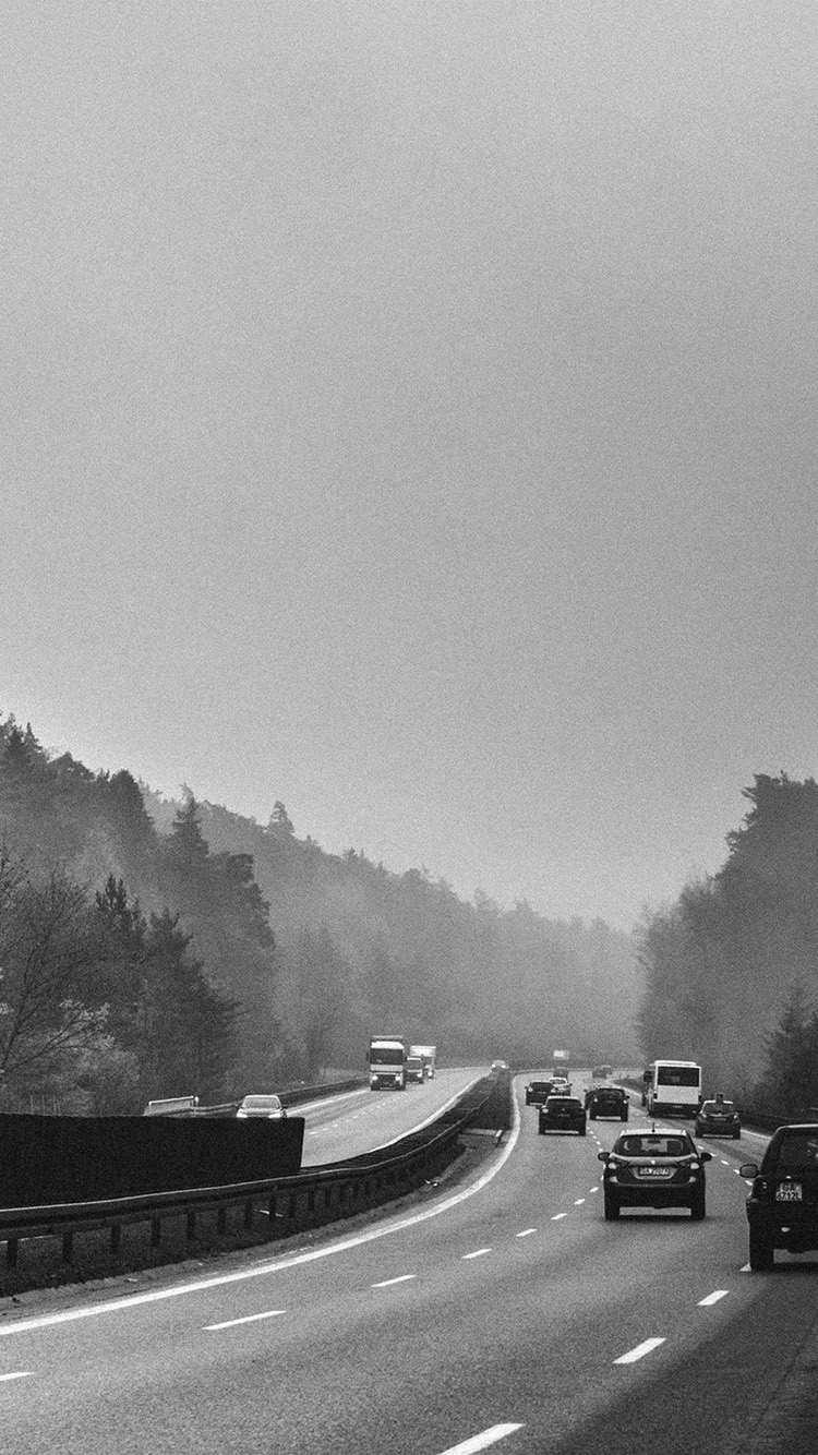 iPhone7papers.com-Apple-iPhone7-iphone7plus-wallpaper-no54-road-drive-afternoon-nature-foggy-bw-dark