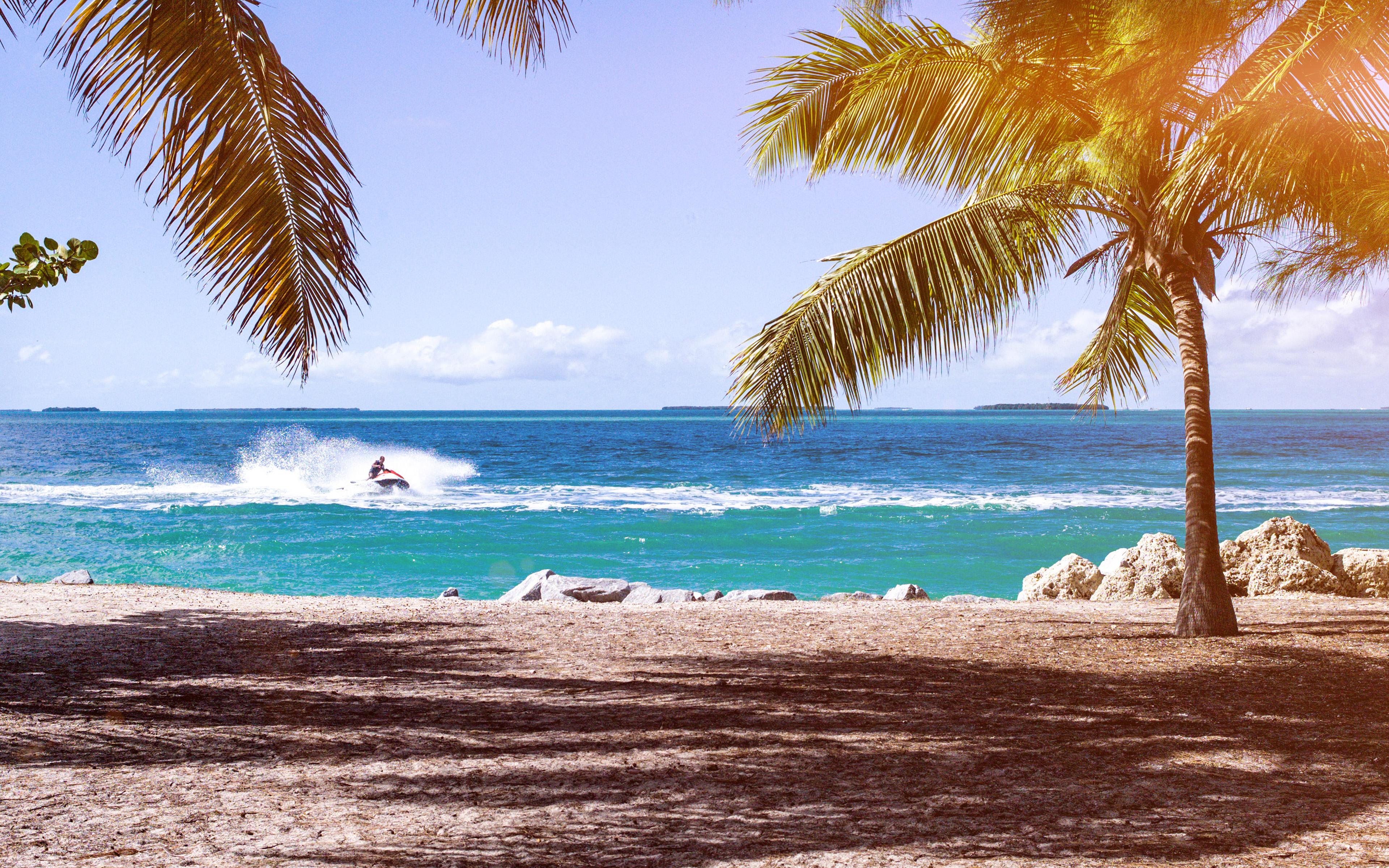 No58 Summer Vacation Ocean Sea Nature Beach Wallpaper