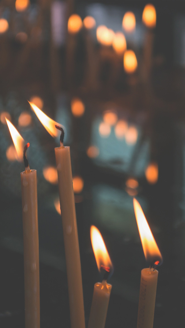 freeios8.com-iphone-4-5-6-plus-ipad-ios8-no79-bokeh-candle-light-nature