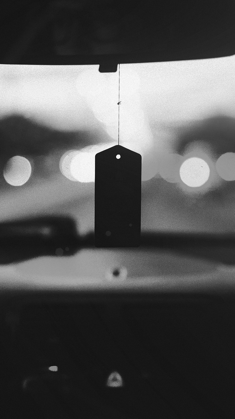 iPhonepapers.com-Apple-iPhone-wallpaper-np25-bokeh-car-drive-afternoon-nature-bw-dark