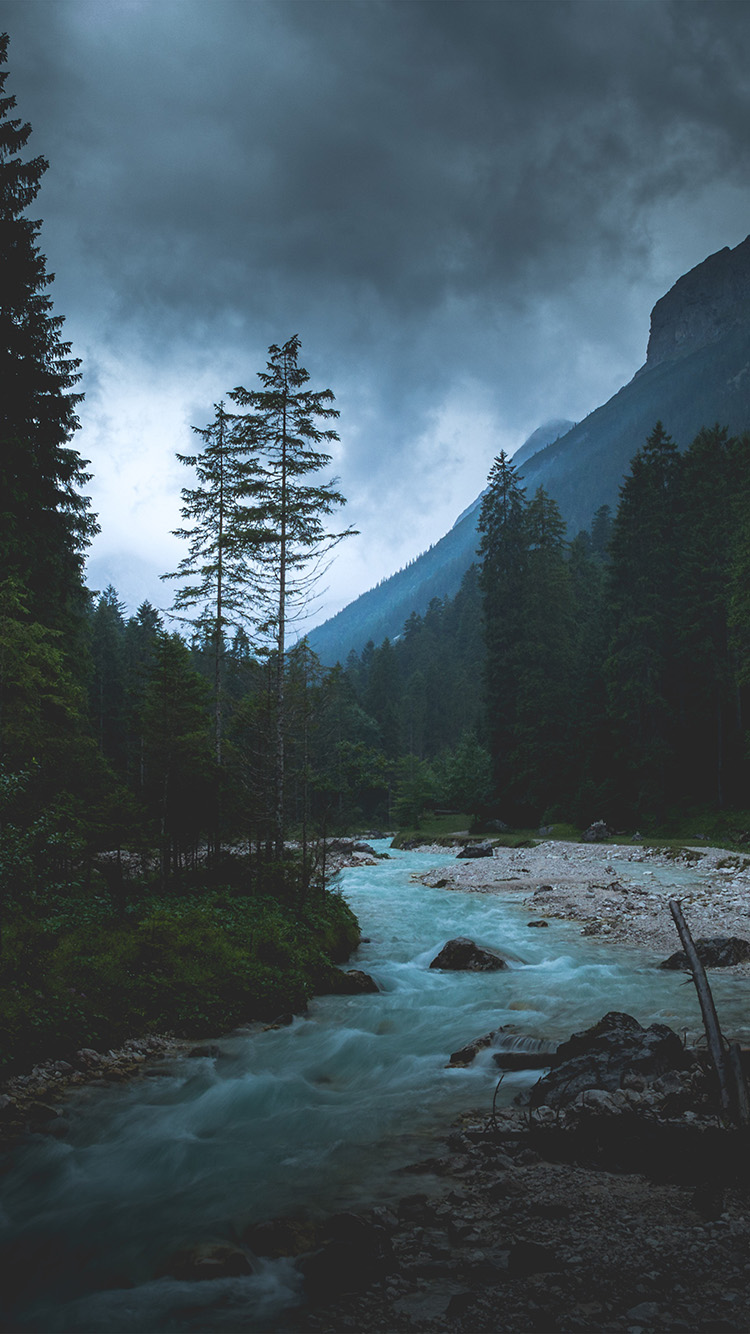iPhone6papers.co-Apple-iPhone-6-iphone6-plus-wallpaper-np31-mountain-wood-night-dark-river-nature