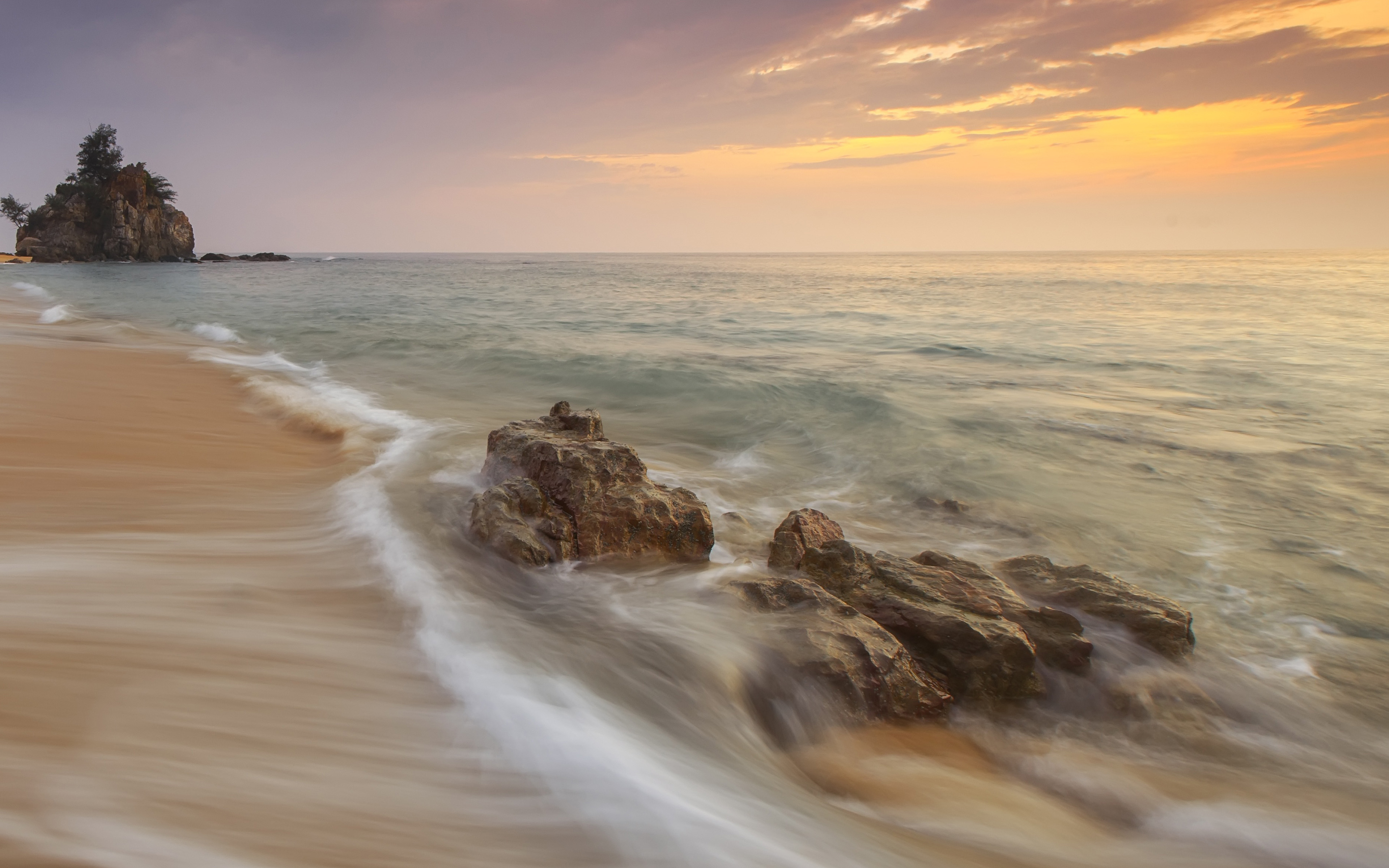 np85-sea-relax-vacation-beach-sunset-nature