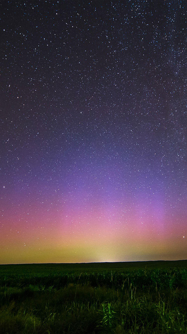 iPhone6papers.co-Apple-iPhone-6-iphone6-plus-wallpaper-nq43-night-sky-star-color-aurora-nature