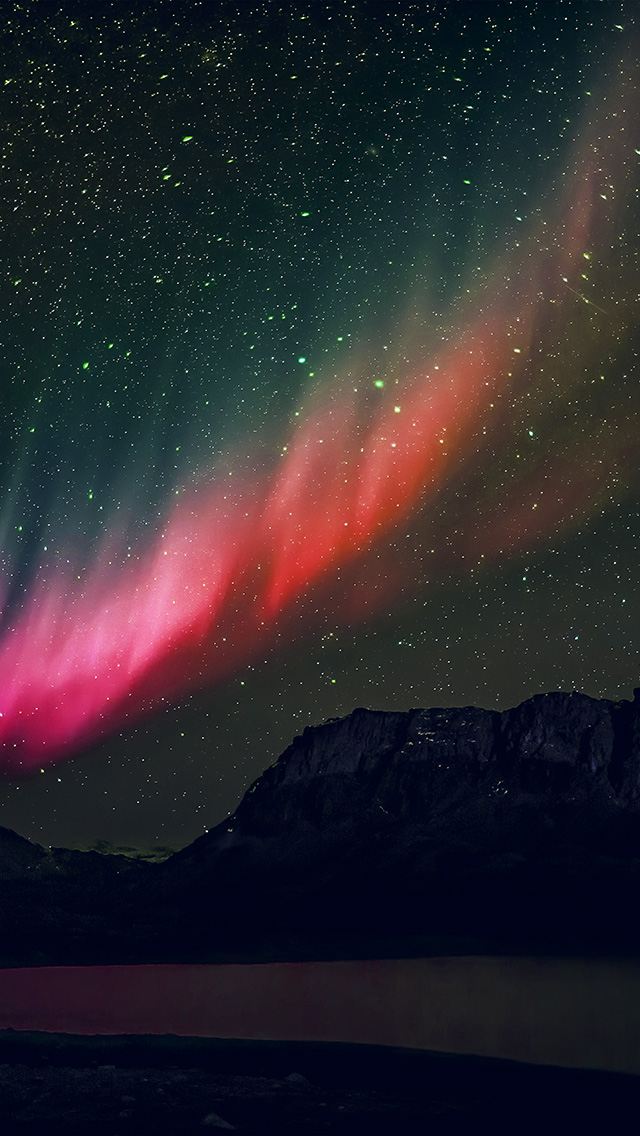 freeios8.com-iphone-4-5-6-plus-ipad-ios8-nq53-aurora-night-sky-mountain-space-nature-rainbow-love