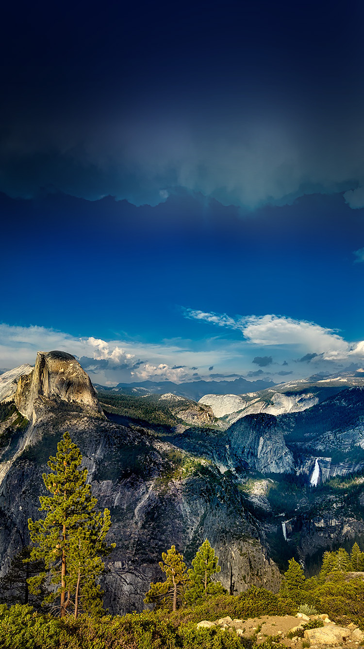 Papers.co-iPhone5-iphone6-plus-wallpaper-nq61-yosemite-mountain-wood-summer-nature