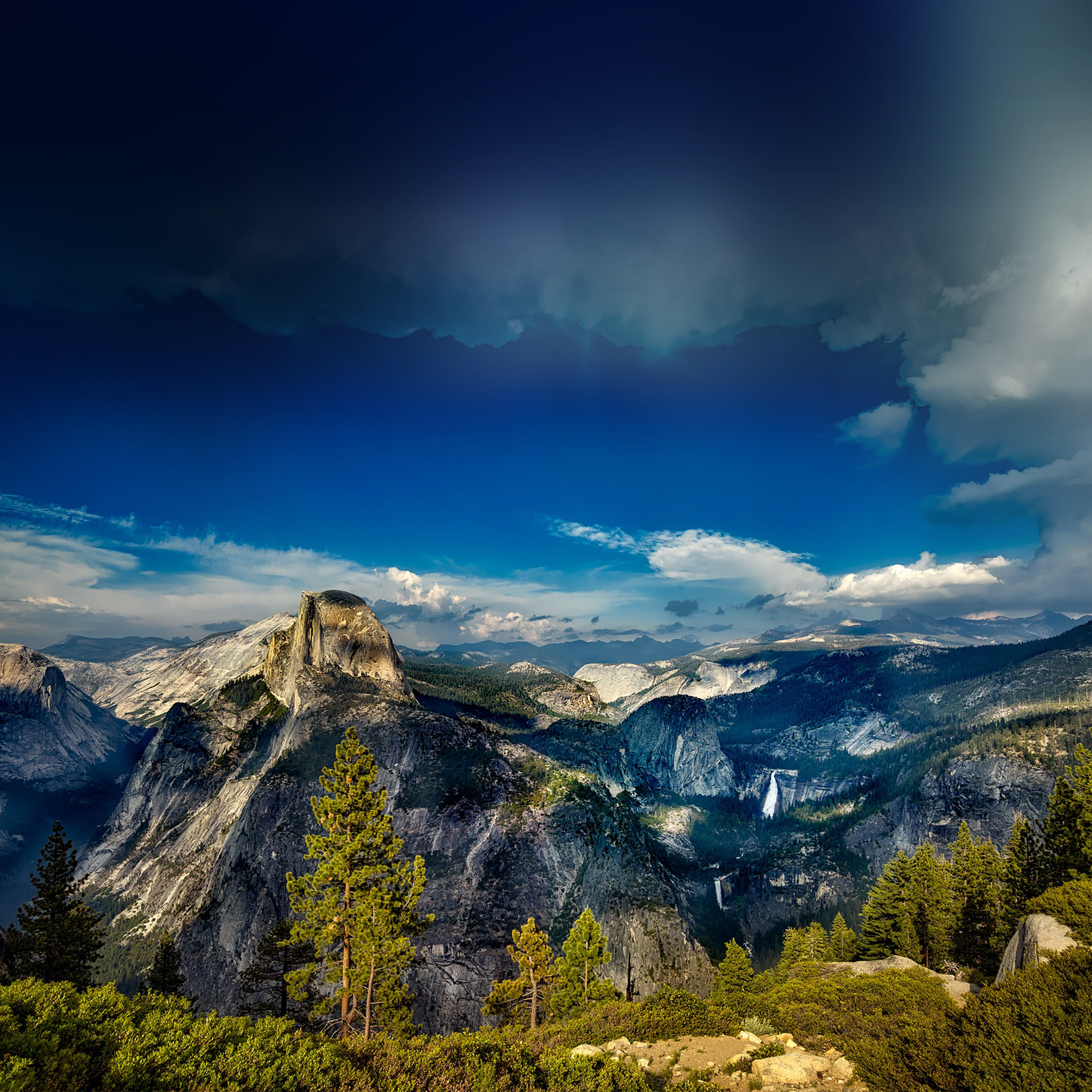 Nq61-yosemite-mountain-wood-summer-nature-wallpaper